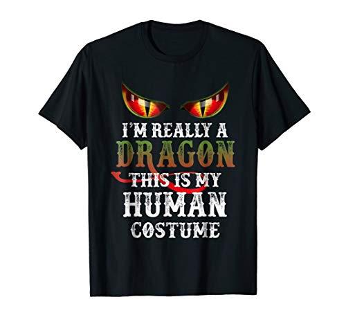 Dragon Costume T Shirt Funny Halloween