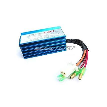 amazon com cdi ignition jog minarelli 2 stroke new racing 1e40qmb rh amazon com 5 Pin CDI Wiring 5 Pin CDI Wiring
