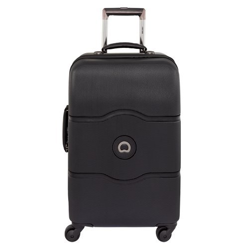 delsey-luggage-chatelet-21-inch-carry-on-spinner-trolley-black-one-size