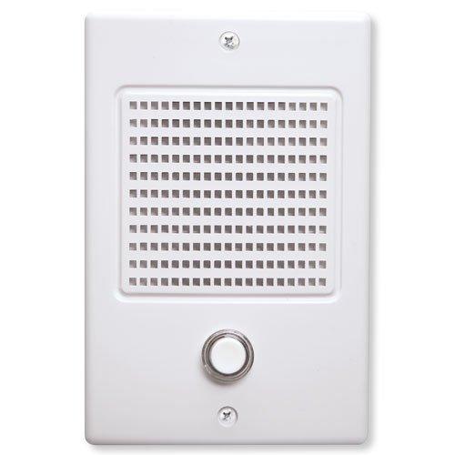Nutone Door Speaker In White Finish