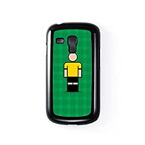 Southport Black Hard Plastic Case for Samsung? Galaxy S3 Mini by Blunt Football + FREE Crystal Clear Screen Protector