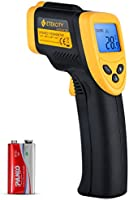 Etekcity Lasergrip 774 Non-contact Digital Laser Infrared Thermometer Temperature Gun -58℉~ 716℉ (-50℃ ~ 380℃), Yellow...