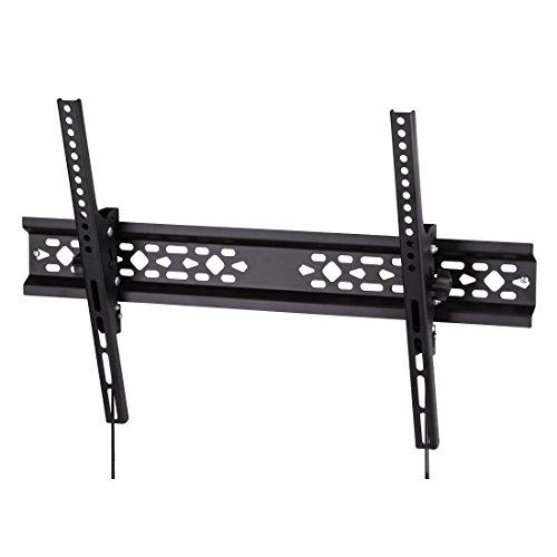 Flashstar TV-Wandhalterung universell passend für alle Bildschirme bis 191 cm (42-75 Zoll), neigbar, VESA bis 600x400, für max 75kg schwarz