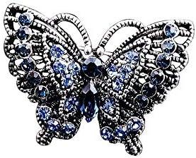 BXU-BG ノベルティブローチ女性のブローチピンブローチブローチ女性ファッション小蝶のピンシンプルワイルド気質アンチ照明カーディガンピン、ベストギフト