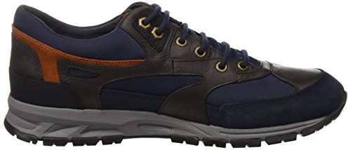 Mens Trainers Delray Delray Geox Geox Brown Mens Navy Amphibiox Navy Trainers amp; Brown amp; Amphibiox qUn80vw1