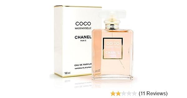 Amazoncom C H A N E L Coco Mademoiselle Eau De Parfum 34 Oz100