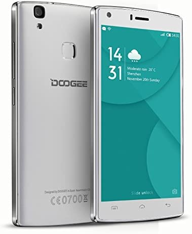Doogee X5 Max Pro, 4G Lte Móvil, 4000Mah Grande Baterá A, 8Mp+8Mp Cá Mara, Huella Dactilar Movil, Dual Sim, 5 Pulgadas Smartphone With Hd LCD, Android 6.0, Smartphone Libre: Amazon.es: Electrónica