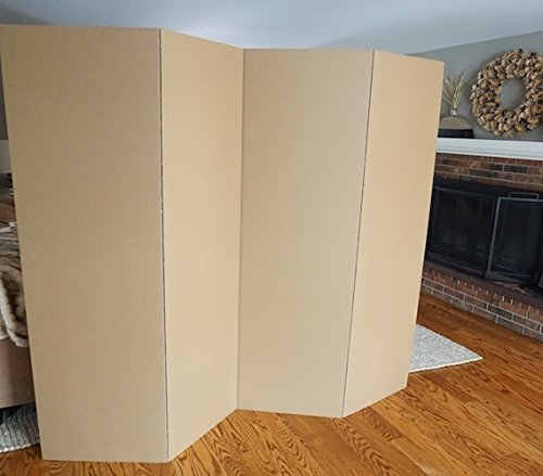 Privacy Room Divider - Kraft