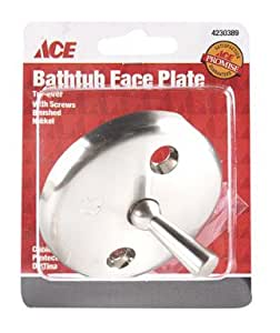Ace Nickel Trip Lever Face Plate
