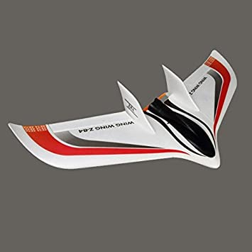Buy Generic Zeta Wing Wing Z 84 Z84 Epo 845mm Wingspan Fpv Racer Flying Wing Kit Red Online At Low Prices In India Amazon In