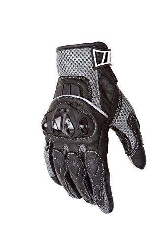 - Motorcycle Biker Gloves Black Premium Summer Mesh | Touchscreen | Padded All Weather Feature for Men and Women | Breathable Moisture Wick Air Flow Technology | VENTURE (2X)