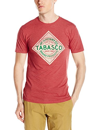 isaac-morris-mens-tabasco-label-short-sleeve-t-shirt-red-large