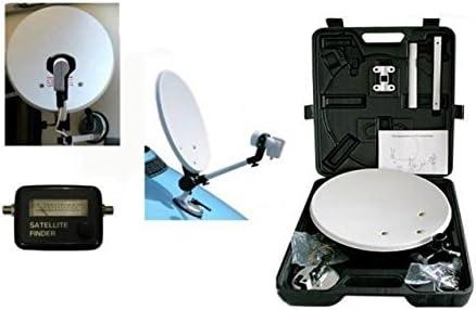 Megasat Kit de parabrisas portátil + medidor de campo SAT Finder, caravana