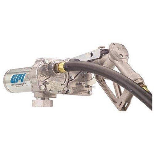- GPI 110000-99 Aluminum M-150S-MU Fuel Pump, Manual Nozzle, 12V DC