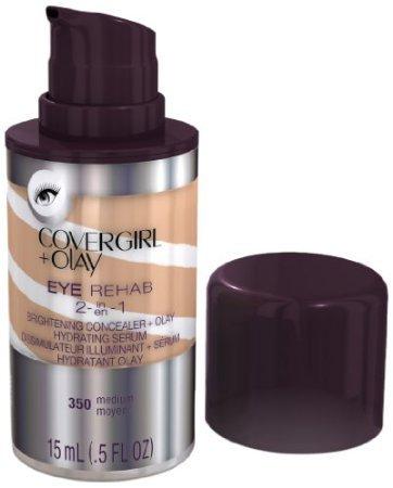 CoverGirl Plus Olay 350 Eye Rehab Concealer, Medium, 0.5 Fluid Ounce