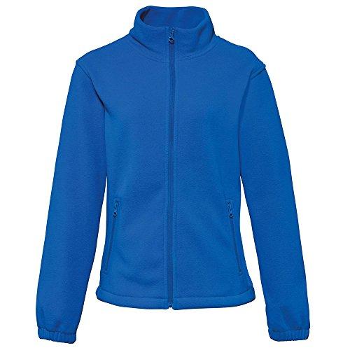 2786 Womens Full Zip Warm Shaped Fit Fleece Jacket Royal