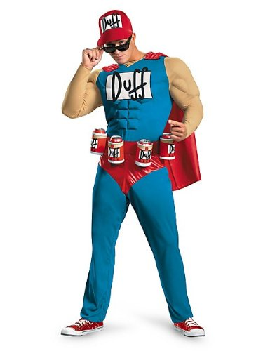 Disguise Unisex - Adult Classic Muscle Duffman