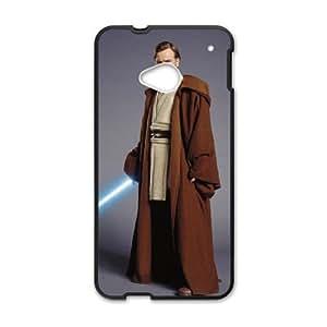 Star-Wars-OBI-WAN-KENOBI-JEDI-CAPA-3 a la Mejor funda HTC uno M7 caja del teléfono celular Funda cubre negro