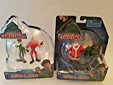 Arthur Christmas Two Pack Mini Figure: Arthur & Steve/ Santa & Bayony: One don't have packaging