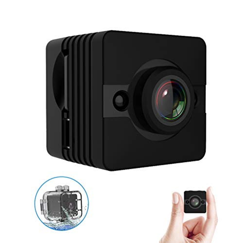 Mini Spy Camera Hidden Nanny Cam Tiny Espia Cop Surveillance Security Cameras Wearable Waterproof Action Cams Dash Cam with Night Vision Full HD 1080P Video Recorder for Home Car Drone Indoor Outdoor