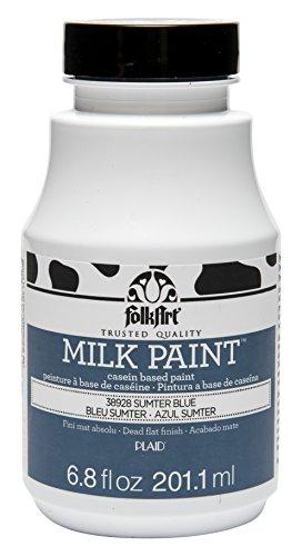 FolkArt Milk Paint in Assorted Colors (6.8 oz), 38928 Sumter Blue