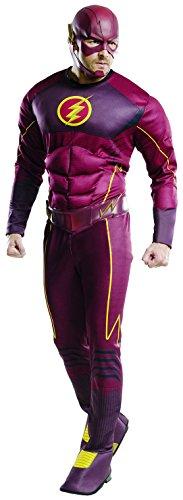 Rubie's Costume Co Men's Flash Deluxe Costume, Multi, Standard