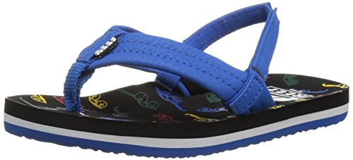 Reef Boys' Ahi Sandal, Blue Sunglasses, 4 M US Big - 4 U Sunglasses