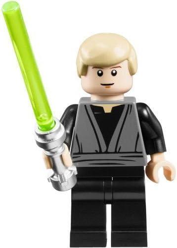 Amazon Com Lego Star Wars Tm Luke Skywalker Jedi Knight Minifigure Toys Games