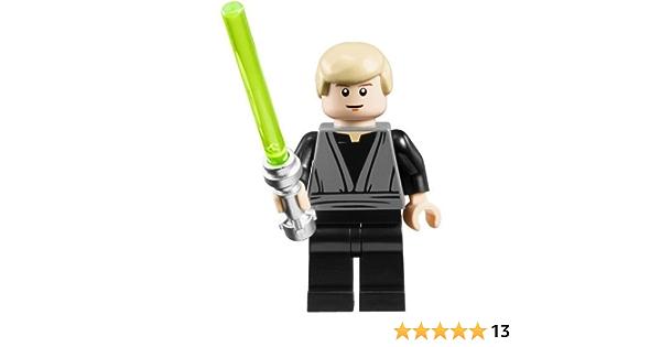Lego Luke Skywalker 10188 Jedi Knight Star Wars Minifigure