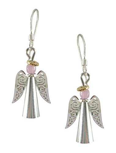 Sienna Sky Silvery Angel Filigree Wings Earrings 1607