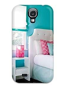 Cynthaskey DaaoQfi9725KLYDp Case Cover Skin For Galaxy S4 (pink Paisley And Blue Wall In Tween Bedroom) wangjiang maoyi