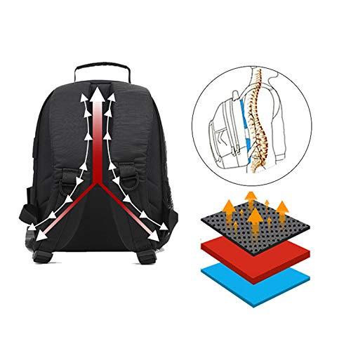 DP-iot Upgrade Waterproof Photography Video Photo Digital Camera Backpack Multi-Functional Rain Cover Camping Travel Bag