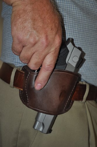 Pro-Tech Outdoors Brown Leather Beltslide Gun Holster for S&W M&P 45, Sigma Series by Pro-Tech Outdoors (Image #6)