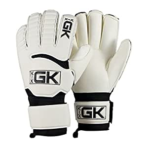 KixGK Club Goalkeeper Gloves (Size 12): All Purpose Match Training Adult & Youth Soccer Goalie Gloves - Designed for Performance, Comfort, Safety