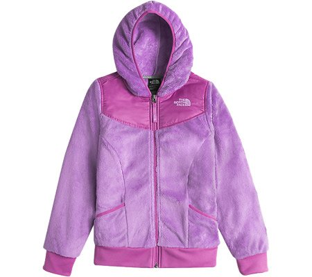 The North Face Girls Girls' Oso Hoodie, XL (18), Purple by The North Face