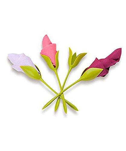 Fleur Porte-Serviette de Papier Bloom (x4) - Peleg Design