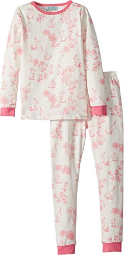 BedHead Kids Baby Girl's Long Sleeve Two-Piece Set (Toddler/Little Kids) Cotton Tail 2T (2 Piece Tail)