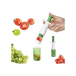Fruit Vegetable Cutter Grape Slicer Auxiliary Baby Food Multifunctional Cherry Tomato Slicers Kitchen Tool