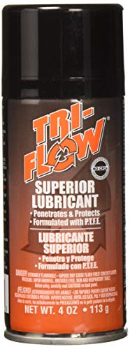 Krylon 20009TF Products Tri-Flow Superior Lubricant Spray, 4 Oz, 4oz, Brown