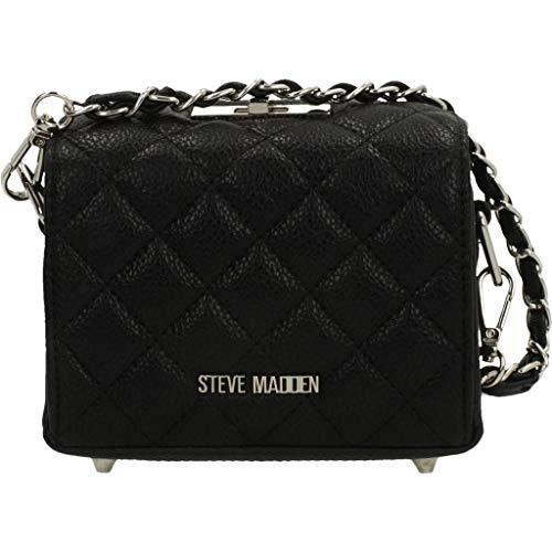 Steve Madden Shopping Lovers And Womens Sacs à bandoulière, couleur noire, marque, modèle Bjaxxon Bolso Sac à bandoulière Noir (noir)