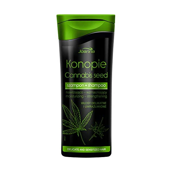 Joanna HEMP SEED Moisturising & Strengthening Hair Shampoo 500ml