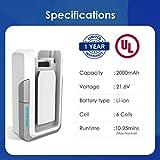 Tineco Replacement 21.6 Volt 2000mAh Lithium Ion