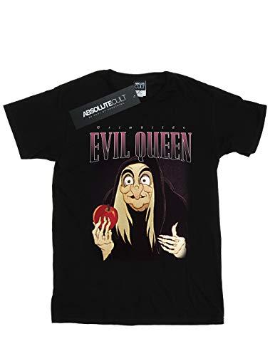 T Montage Disney Snow shirt Noir White Evil Homme Queen wvqSYw