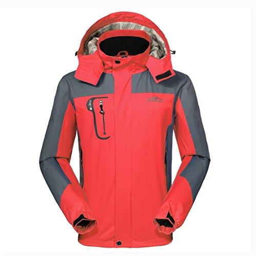 GIVBRO Waterproof Jacket Mens Raincoats New Design Outdoor Hooded Lightweight Softshell Hiking Windproof Rain Jackets