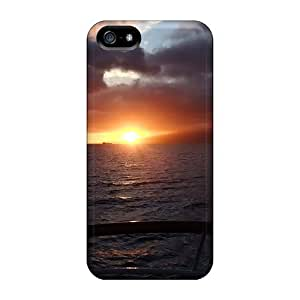 Hawaiian Ocean Sunset Fashion Tpu 5/5s Case Cover For Iphone by ruishername