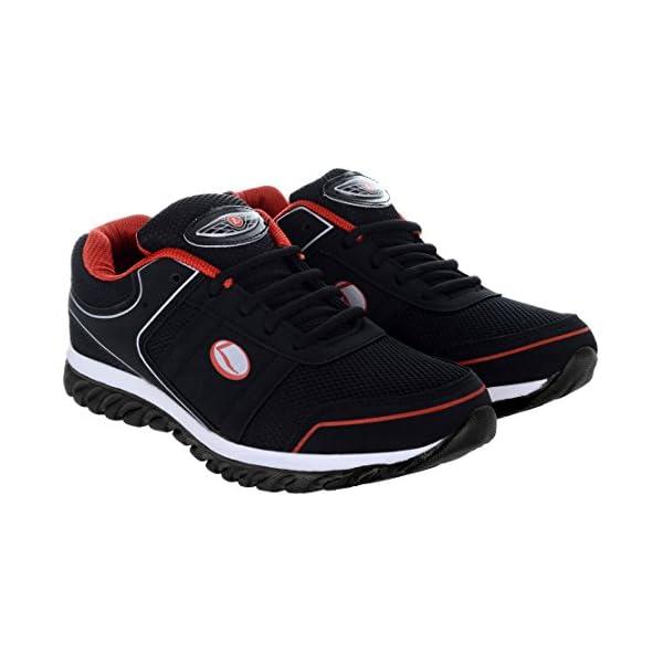 90982d28c356 Lancer Men s Mesh Sports Running Walking Gym Shoes Red Black ...