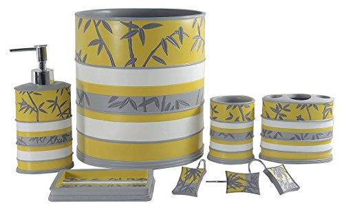 - Daniel's Bath & Byound Venezia Yellow 5-Piece-Bathroom-Accessory-Set, 5 l