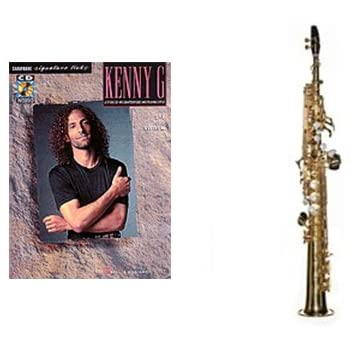 beginner soprano sax play along pack kenny g signature licks book soprano sax w. Black Bedroom Furniture Sets. Home Design Ideas