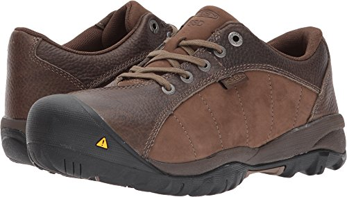 KEEN Utility Women's Santa FE at ESD Industrial and Construction Shoe, Cascade Brown/Shiitake, 7 M US by KEEN Utility