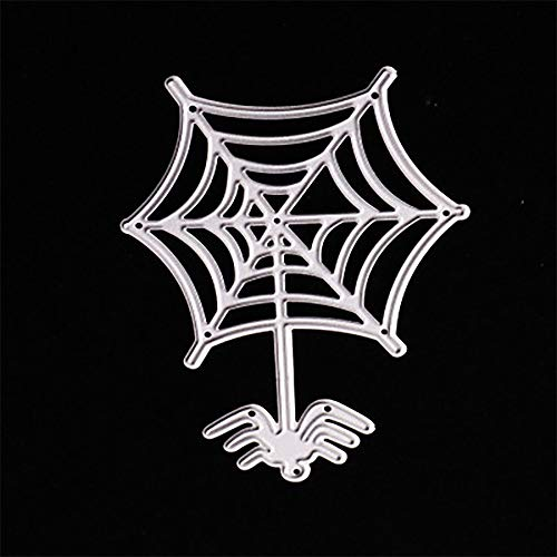MOKO-PP Happy Halloween Metal Cutting Dies Stencils Scrapbooking Embossing DIY Crafts (C)